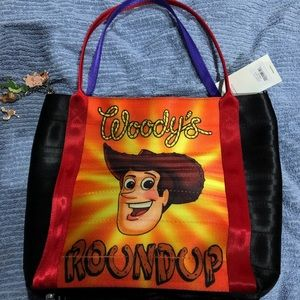 NWT HARVEY'S DOUBLESIDED TOY STORY TOTE
